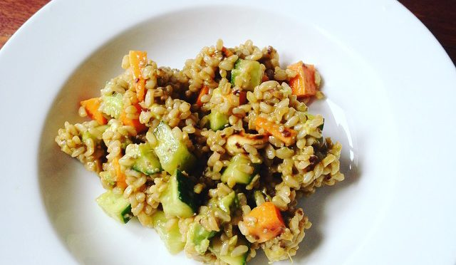 Japanese Brown Rice Salad